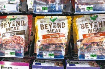 人造肉漢堡爆紅,衝擊素肉漢堡。 路透