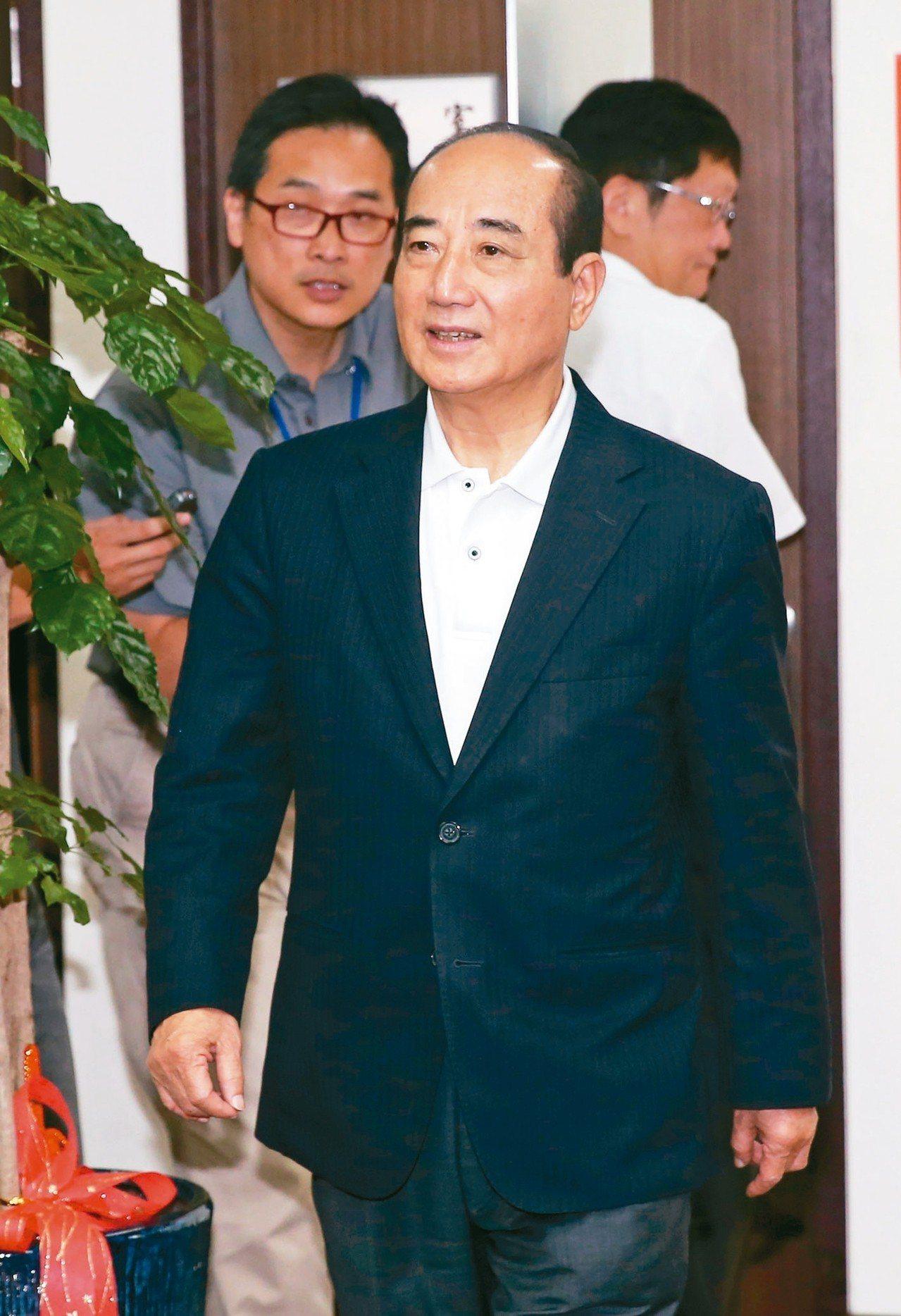 王金平。 記者曾吉松/攝影