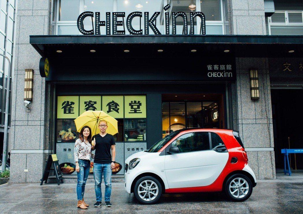 smart X 雀客旅館CHECK inn,兩個品牌在靈魂、質感、風格上,都不謀...