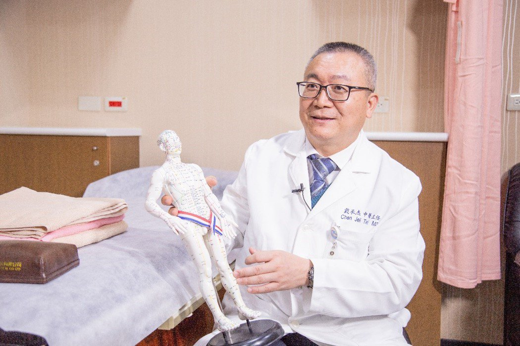 台北醫學大學附設醫院傳統醫學科主任戴承杰醫師。