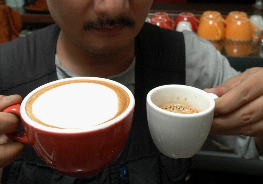 咖啡示意圖,報系資料照