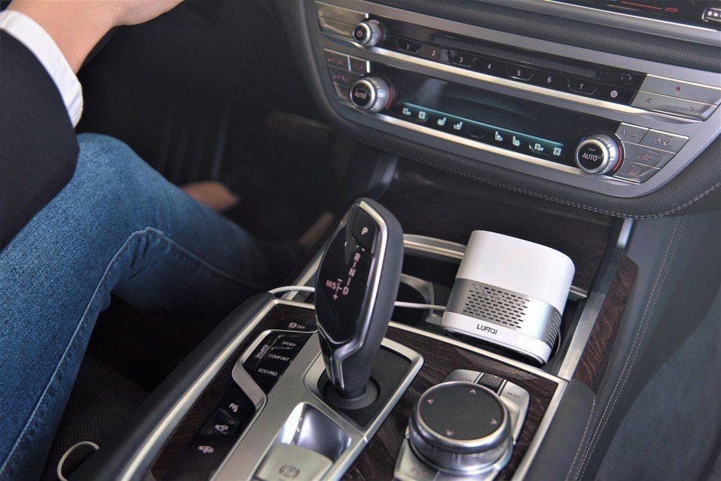 LUFTQI空氣淨化器,不管是不管是在開車、辦公室、或是睡眠時,都可以隨時啟動健...
