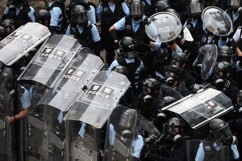 攝於6月12日,香港。 圖/路透社