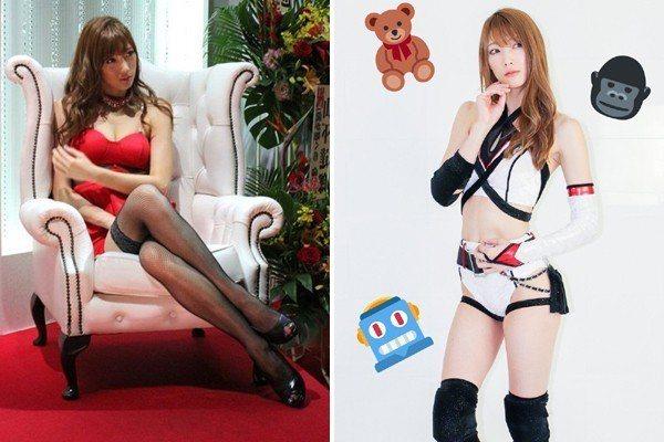 赤井沙希也當過演員和模特兒。 圖/擷自PTT表特版、赤井沙希twitter