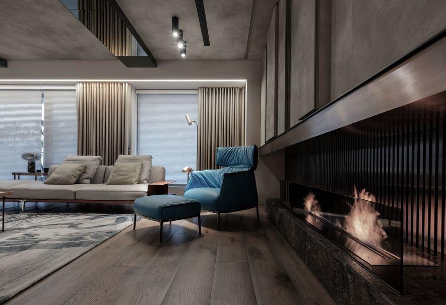 (圖)酒精式壁爐免去實際燃燒柴薪造成的嗆鼻煙塵,安全地為家居營造暖手的生活溫度。