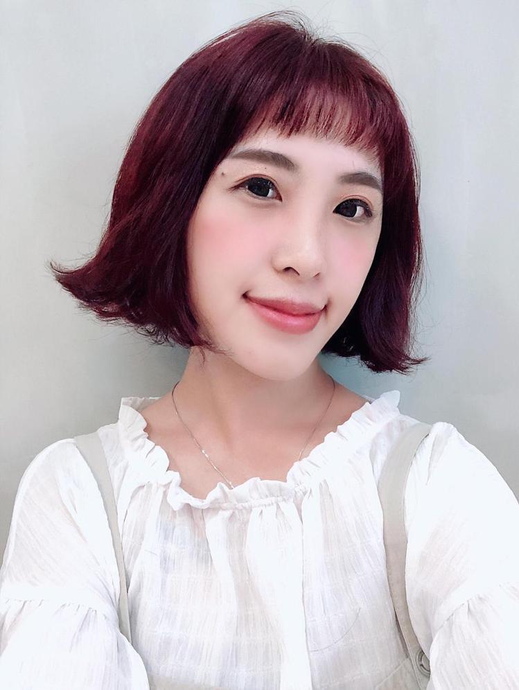 髮型創作/B.O.M hair design / 芭比。圖/StyleMap提供