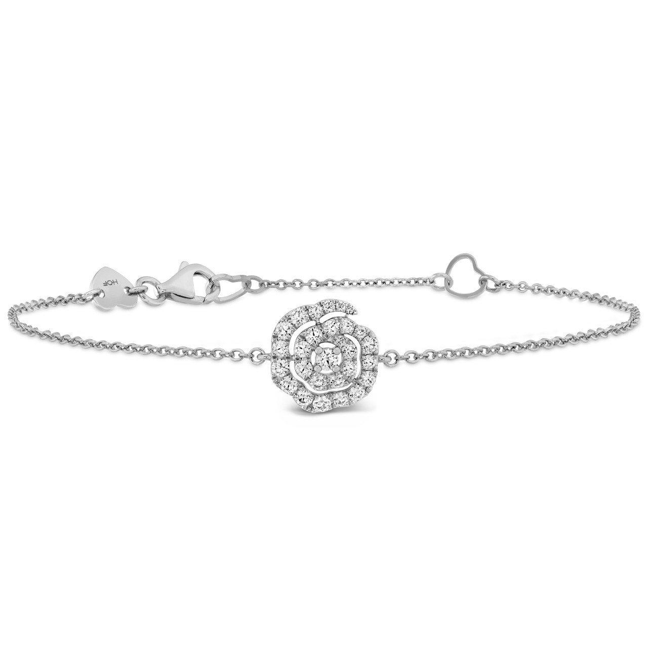 LORELEI慈善珠寶系列手鍊,白K金鑲嵌鑽石總重約0.27克拉,54,000元...