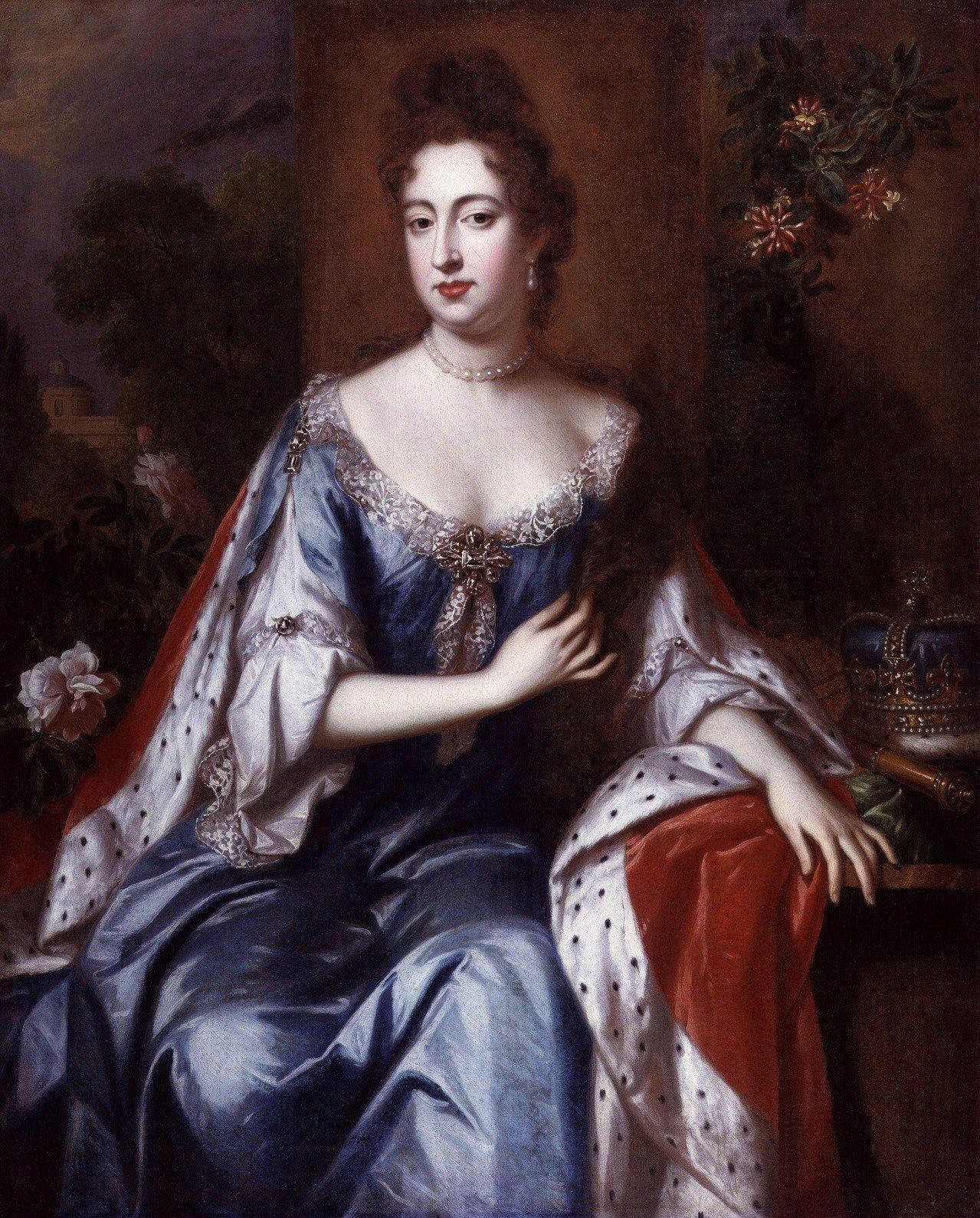 英女王瑪麗二世,約1690年代。圖/邦瀚斯提供