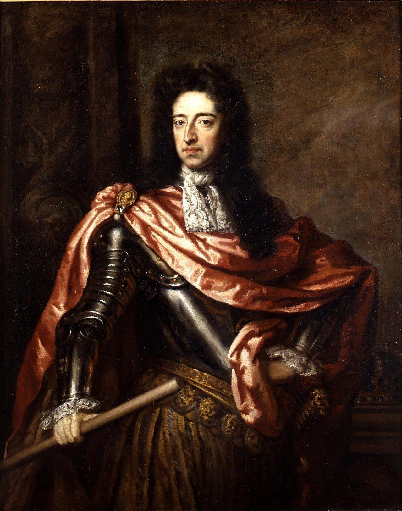 英王威廉三世肖像,Godfrey Kneller繪。圖/邦瀚斯提供
