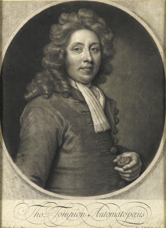 英國鐘表之父Thomas Tompion。圖/邦瀚斯提供