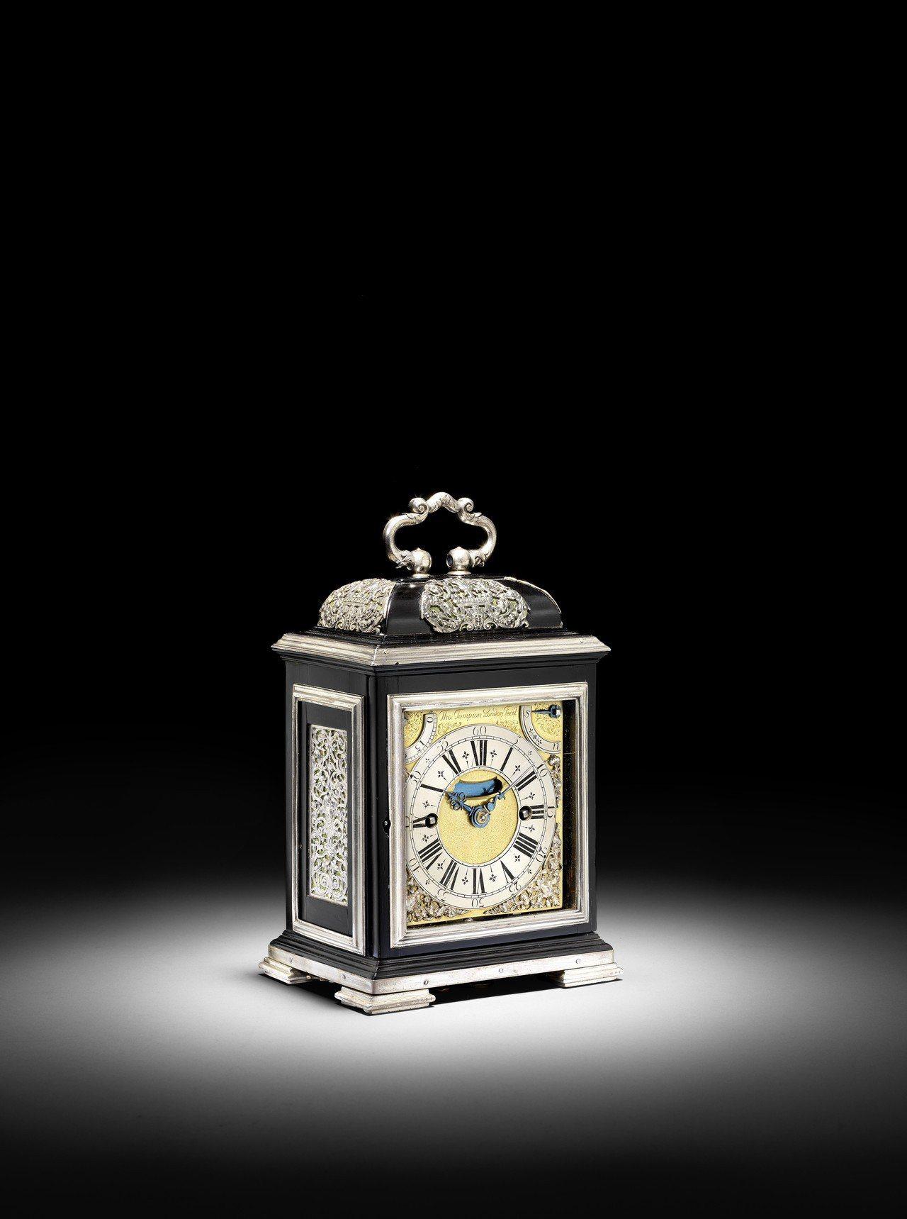 「皇家Tompion座鐘」將於6月19日倫敦邦瀚斯所舉辦的「The Clive ...