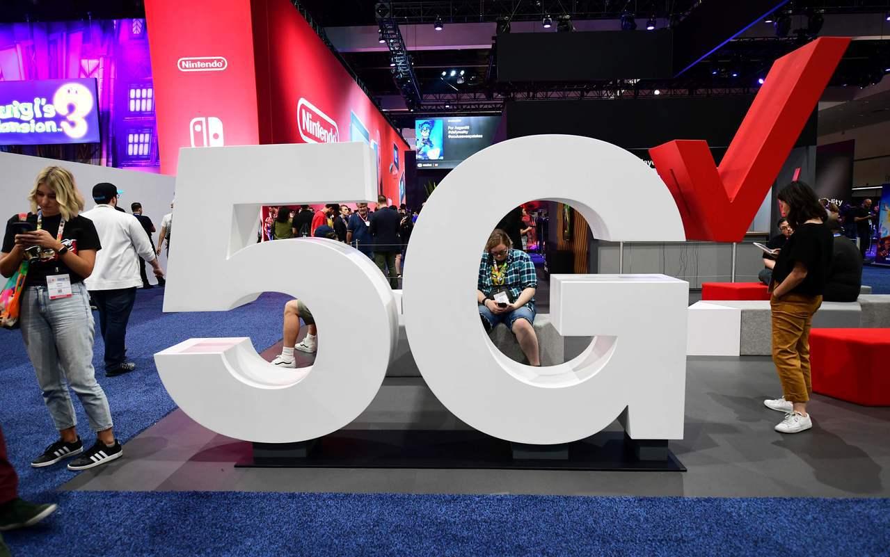美國電信商威訊通訊(Verizon)12日在洛杉磯E3電子娛樂展上展示5G科技。...