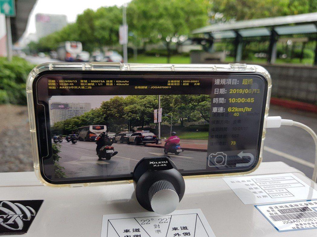 因應每年暑假到開學前後是機車事故高峰期,交通警察大隊選定17處易超速路段,今天起...