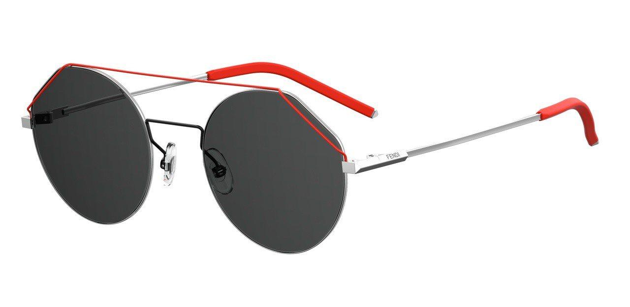 FENDI 2019春夏FIEND系列墨鏡,約14,790元。圖/FENDI提供