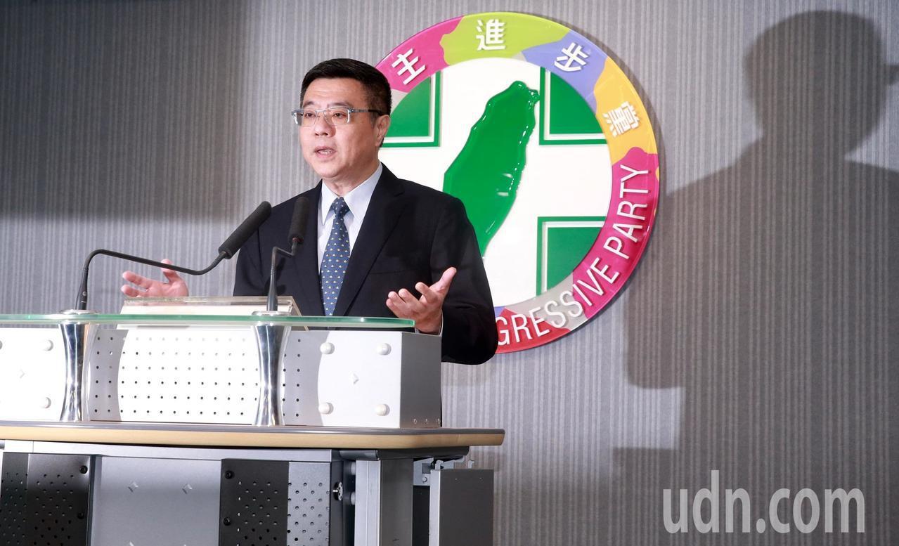 民進黨主席卓榮泰。聯合報系資料照片/記者黃義書攝影