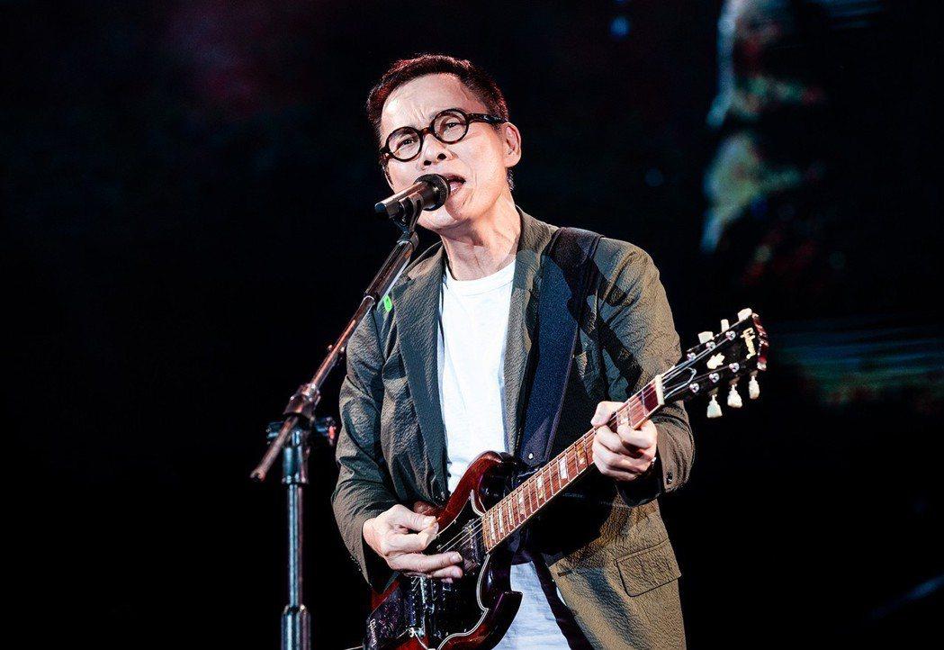 羅大佑本周六將登上台北小巨蛋開唱。圖/種子音樂提供