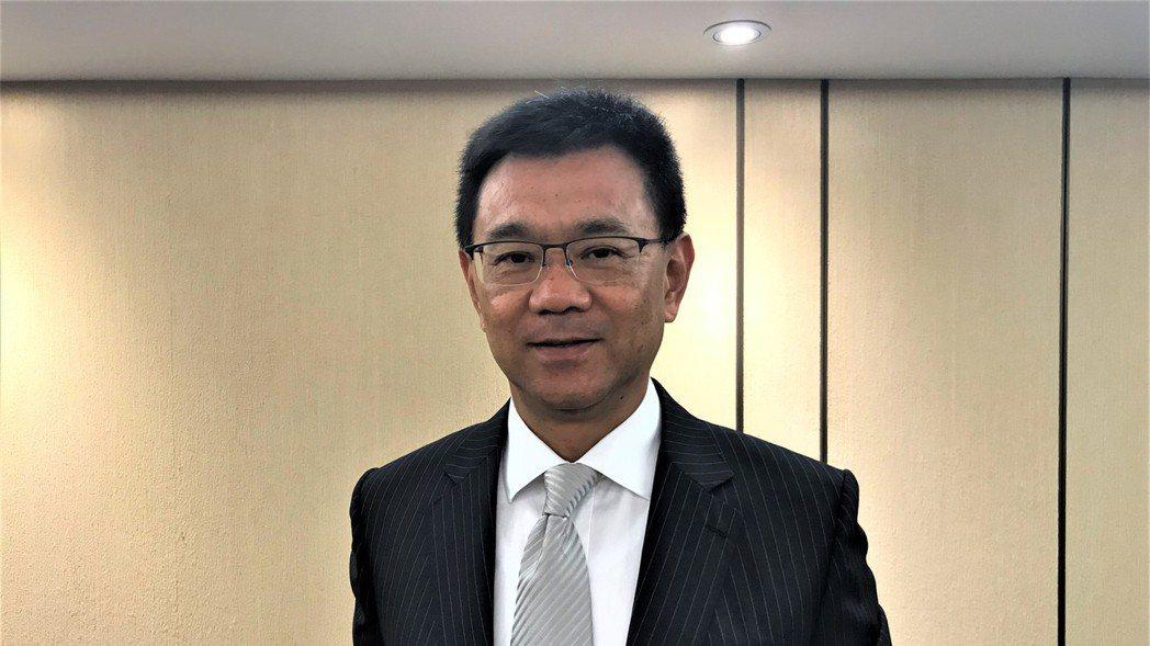 達麗建設董事長謝志長。 記者游智文/攝影