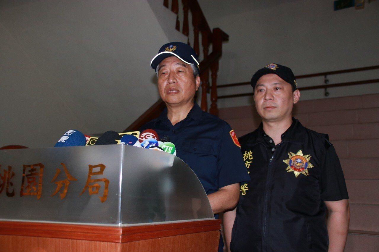 翁群能(左)說明經過。記者曾健祐/攝影