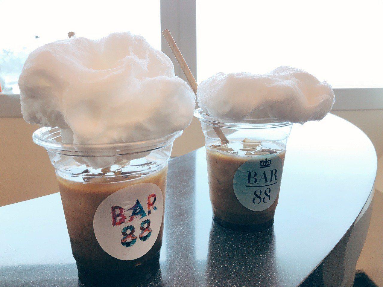 雲朵咖啡。記者江佩君/攝影