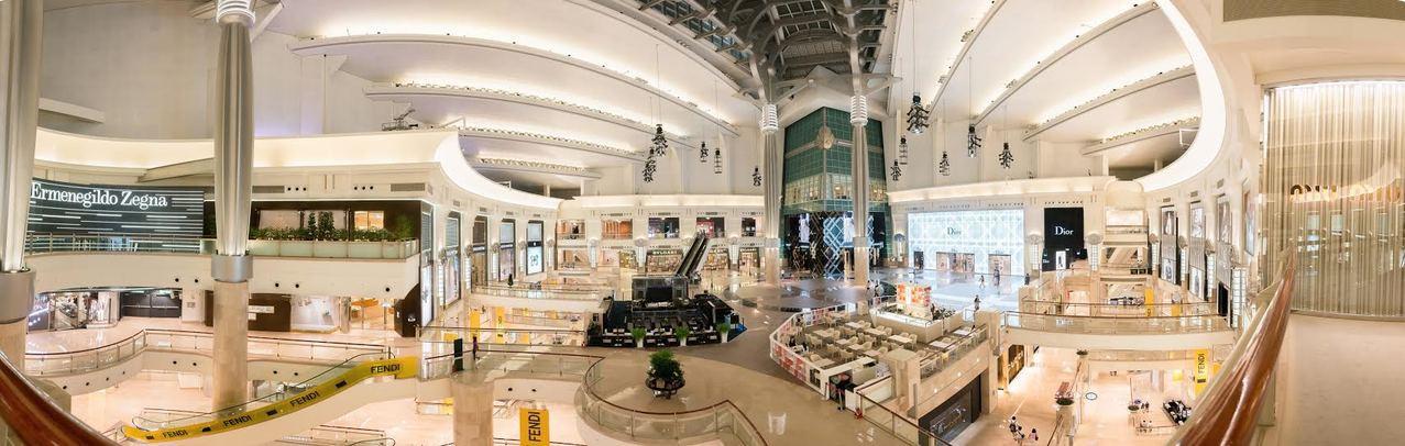 台北101齊聚高端鐘表與精品,貢獻業績占半數。圖/台北101提供