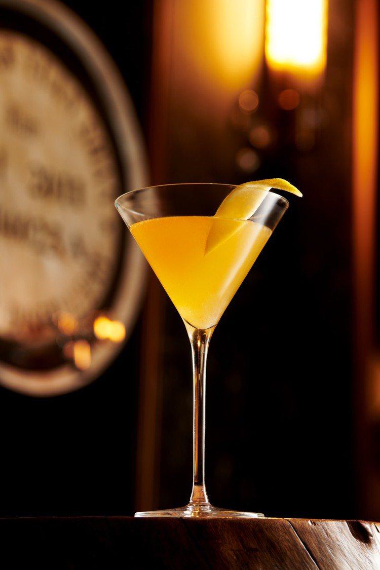 使用噶瑪蘭經典獨奏白蘭地桶威士忌原酒調製的「KAVALAN Sidecar」售價...