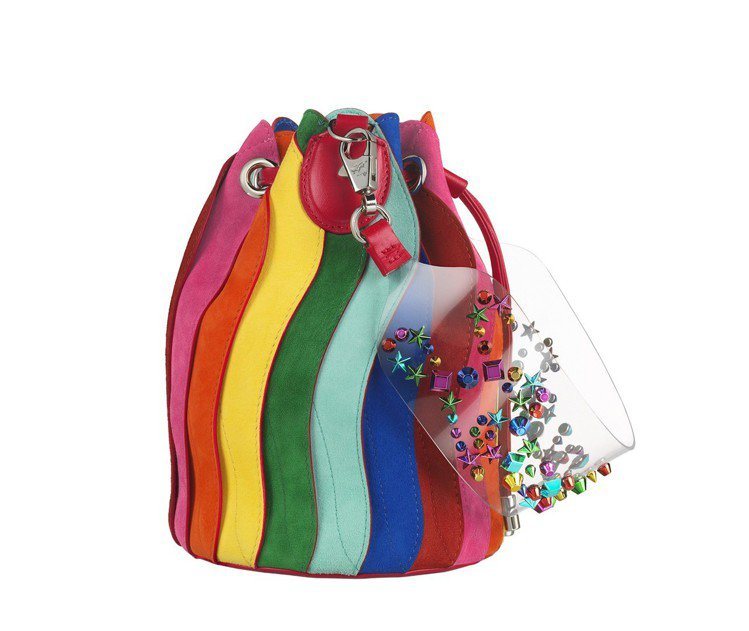 Festi Loubi系列Marie Jane水桶包,售價78,000元。圖/C...