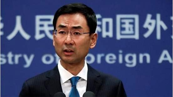 中共外交部新聞發言人耿爽今天表示,香港金鐘一帶發生的是公然地、有組織地發動「暴動...
