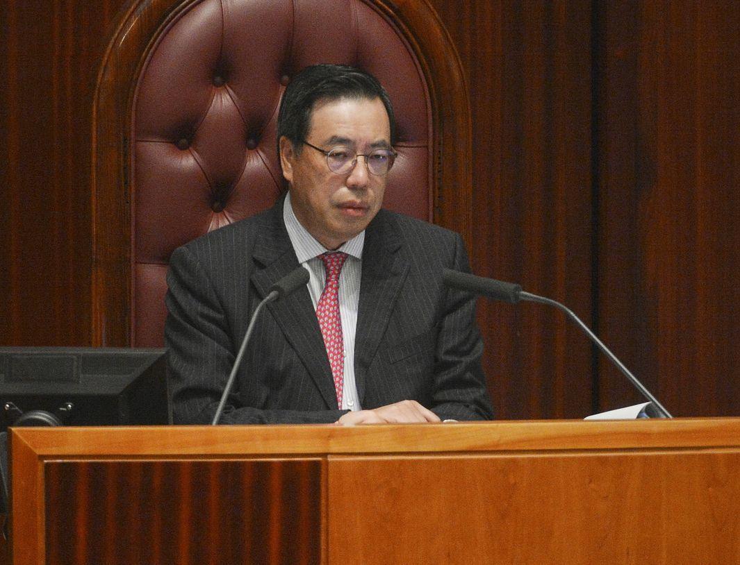 香港立法會主席梁君彥。取自星島網