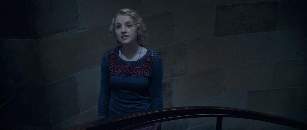 伊凡娜林奇在「哈利波特」片集扮演常恍神的露娜。圖/摘自imdb