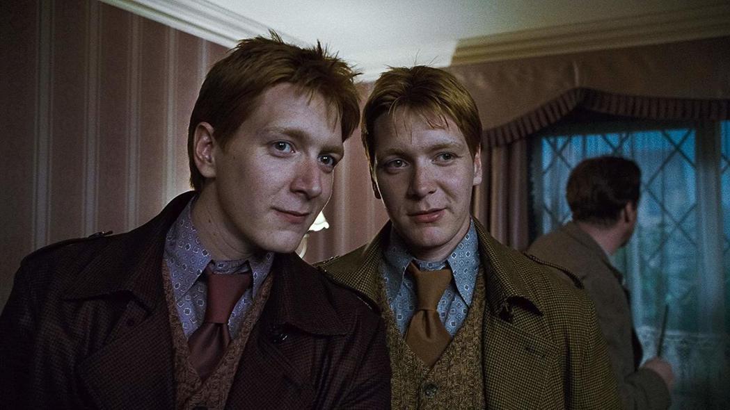 雙胞胎當年在「哈利波特」片集中就讓人難以分辨。圖/摘自imdb