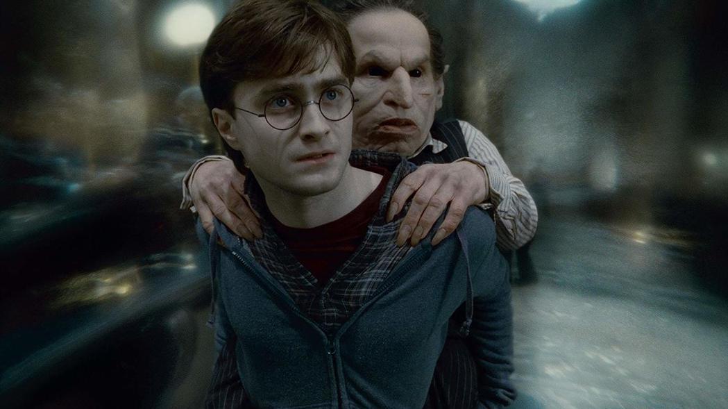 華威克戴維斯在「哈利波特」片集中的角色之一,是妖精「拉環」。圖/摘自imdb