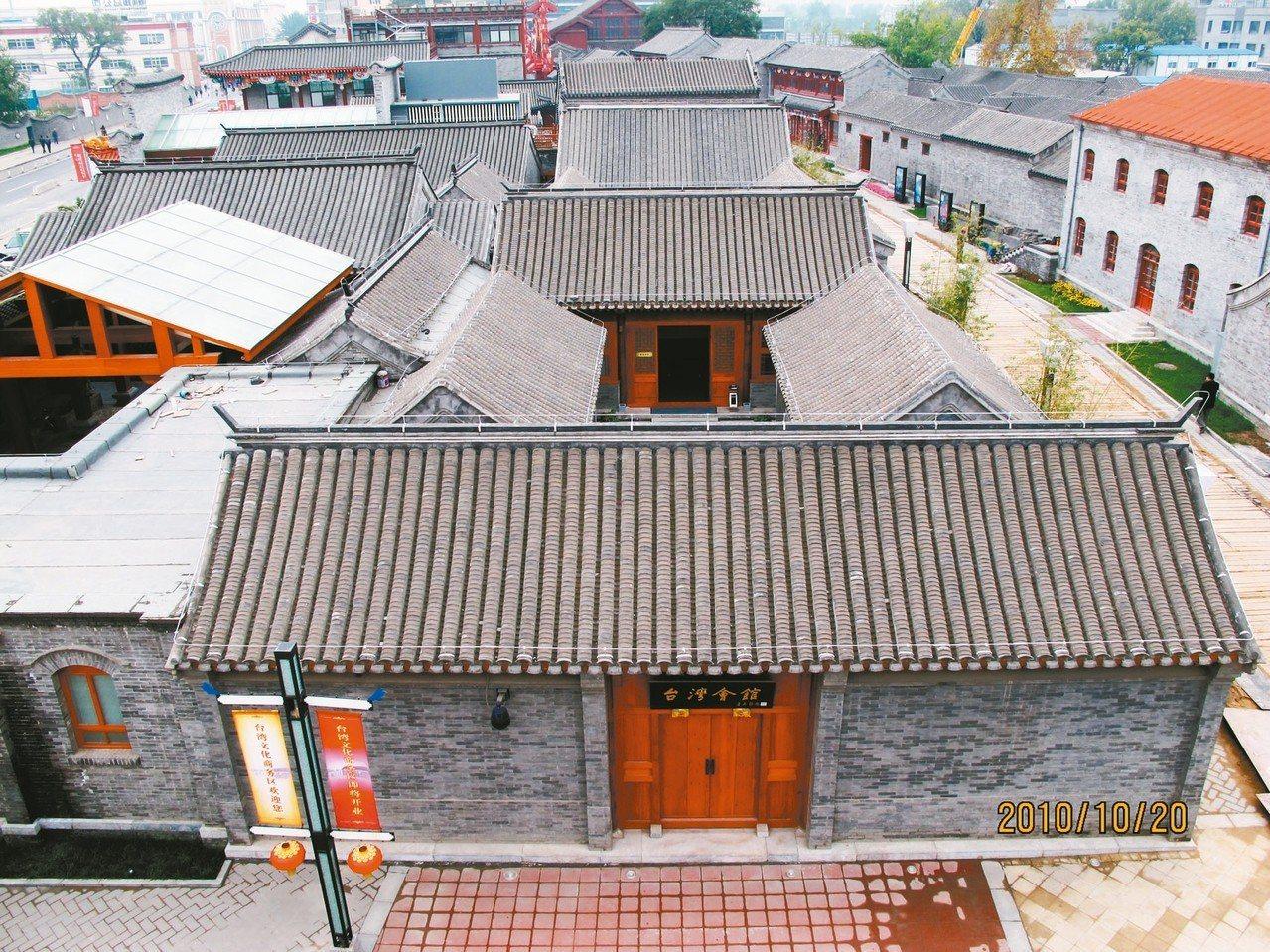 俯瞰台灣會館,經歷百年多的歲月洗禮。 圖/台灣會館提供