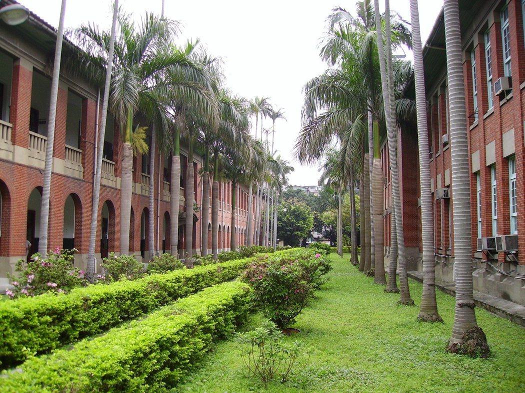 台大徐州校區是總督府台北高商的原址。來源/維基百科