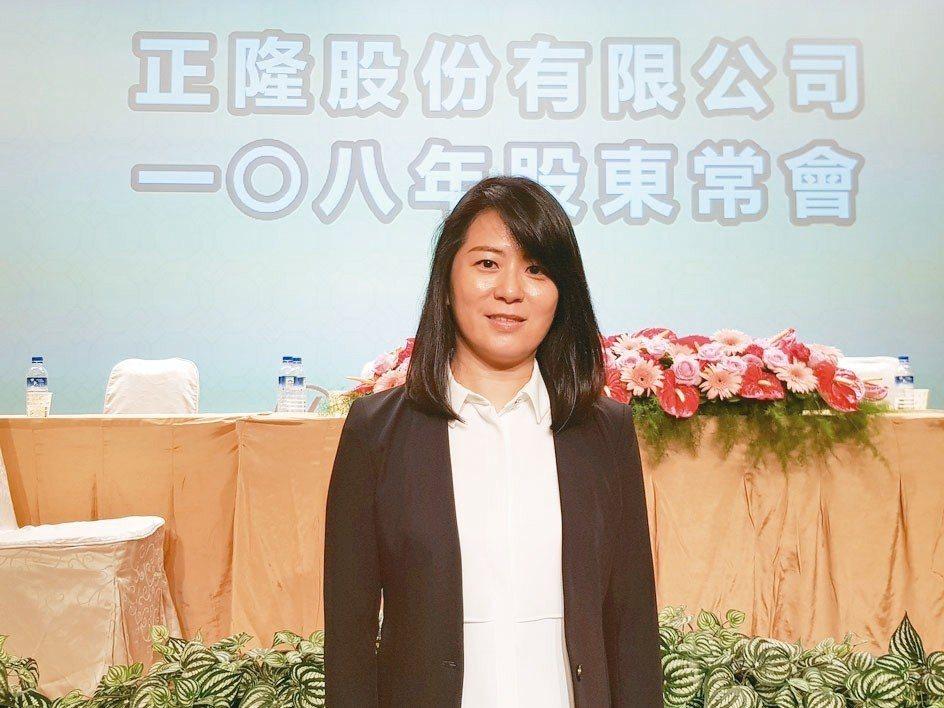 正隆董事長鄭舒云 記者曾仁凱/攝影