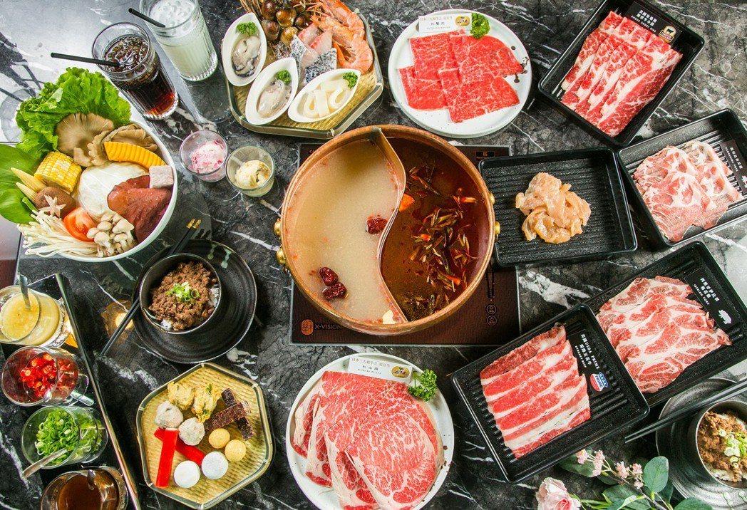 Beef King推出全台唯一日本頂級A5和牛鍋物品牌。Beef King/提供