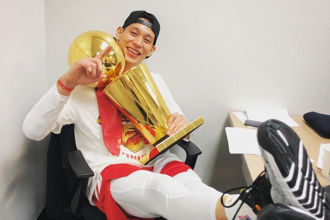 林書豪在暴龍隊贏得NBA總冠軍,這是他難以抺滅的成就。 報系資料照