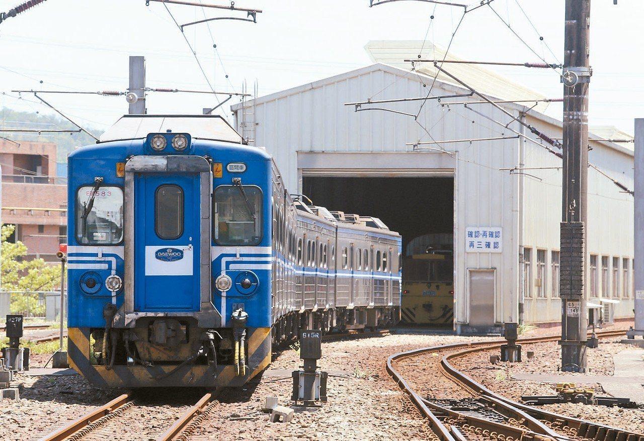 台鐵已針對EMU500型提出六年安全改善計畫。 圖/聯合報系資料照片
