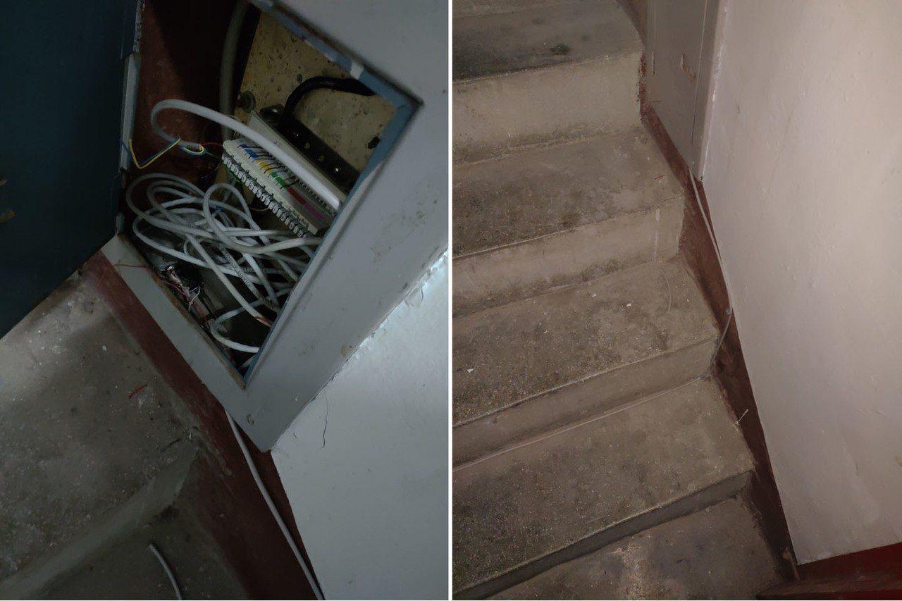 一名網友發現隔壁鄰居從公寓樓梯間的配線箱接線到家裡去,懷疑是遭到偷接,網友則解釋...