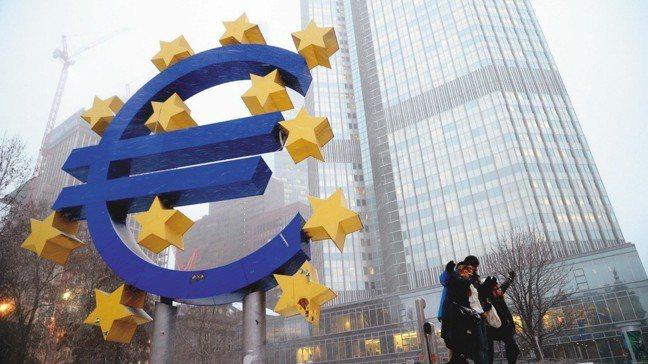 歐洲央行(ECB)。報系資料照
