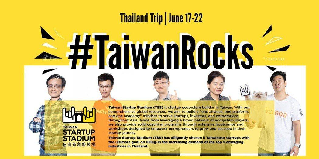 TSS帶領五家新創企業代表前往泰國曼谷Techsuace Global Summ...