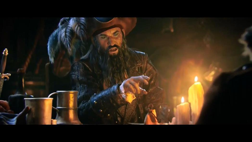 《刺客教條:黑旗》中的黑鬍子。