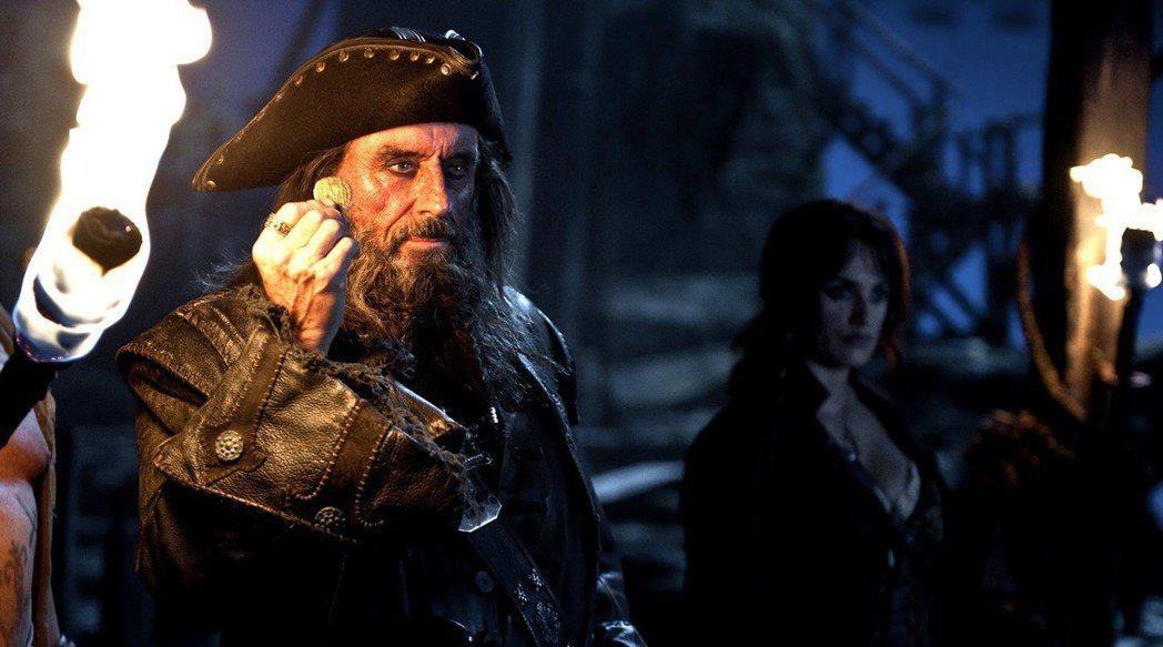 《神鬼奇航:幽靈海》中的黑鬍子。