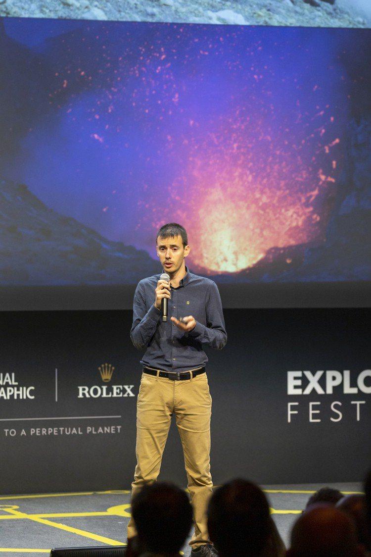 2019年度勞力士雄才偉略大獎入圍者之一 、火山學家Yves Moussalla...