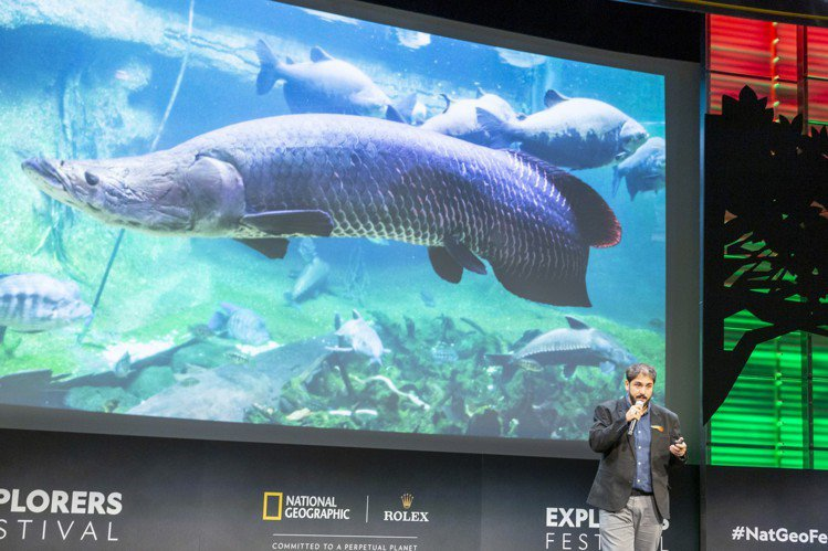 2019年度勞力士雄才偉略大獎入圍者之一、巴西漁業生態學家João Campo...