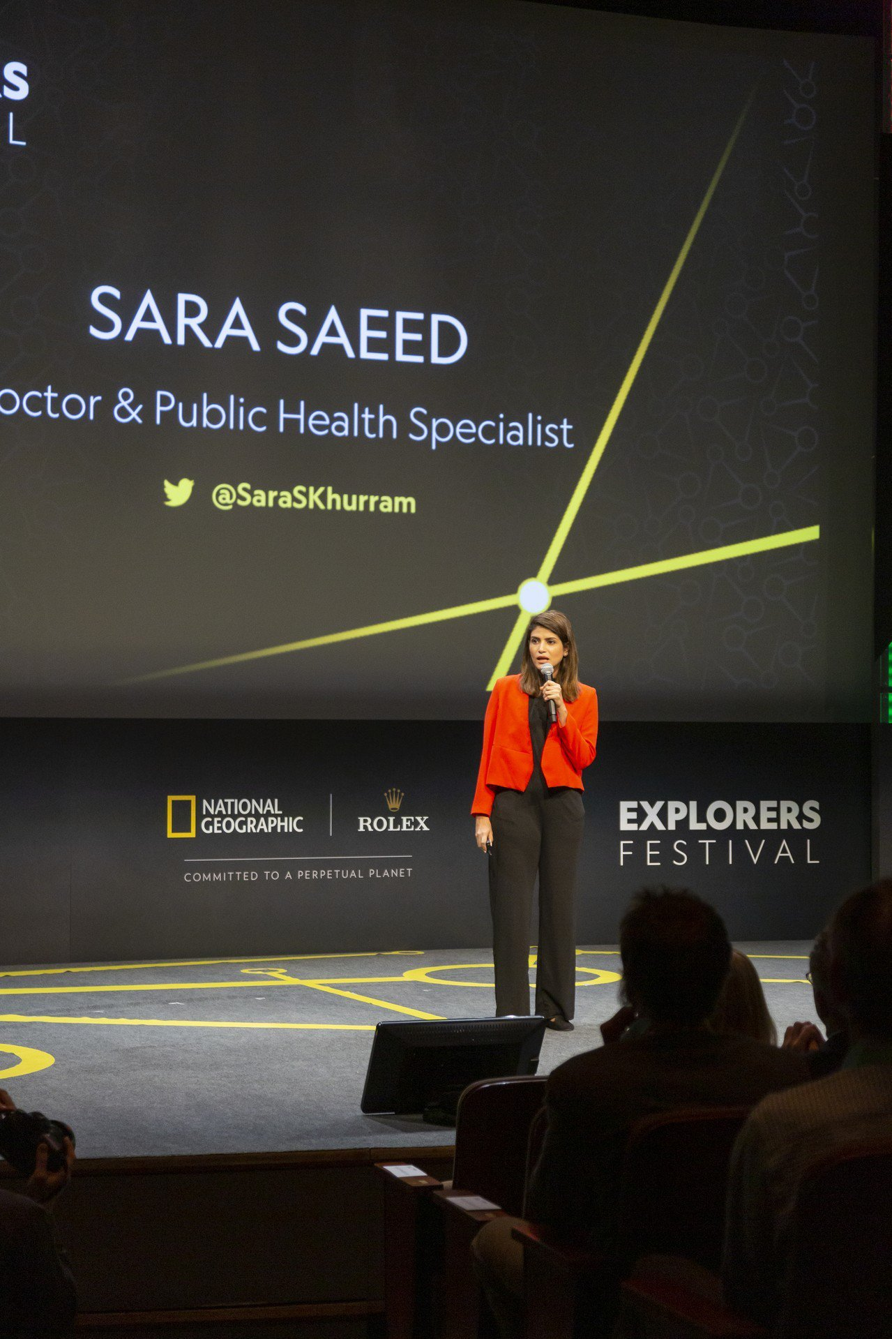 2019年度勞力士雄才偉略大獎入圍者之一、巴基斯坦公共衛生專家及企業家Sara ...