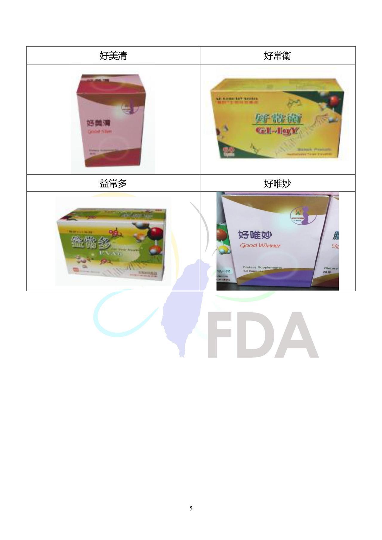 華肝基因股份有限公司被查獲使用過期9年的蛋黃粉,使用在28款產品中。圖/食藥署提...
