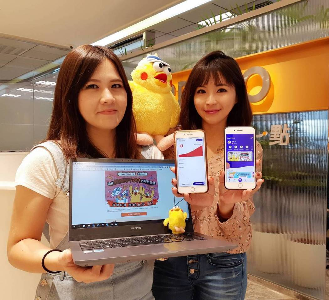 點數龍頭HAPPY GO宣布攜手日本DOCOMO推出全台第一個以手機App跨境累...