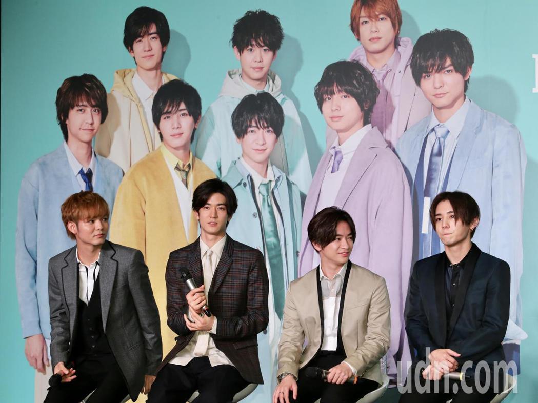 日本傑尼斯男子偶像團體Hey! Say! JUMP來台舉辦記者會,宣傳即將在台灣
