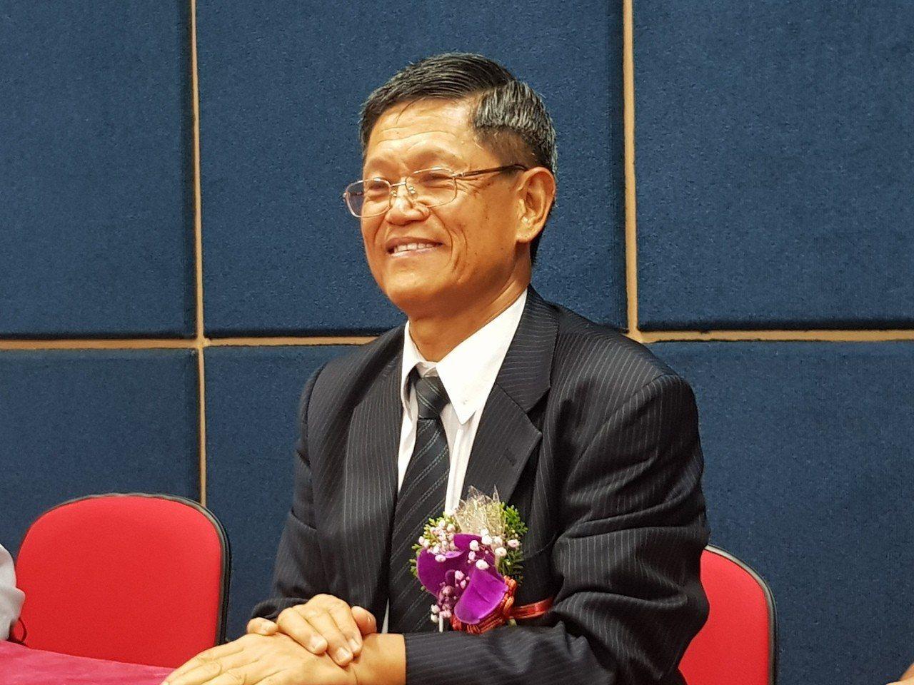 正新董事長羅才仁。(記者曾仁凱/攝影)