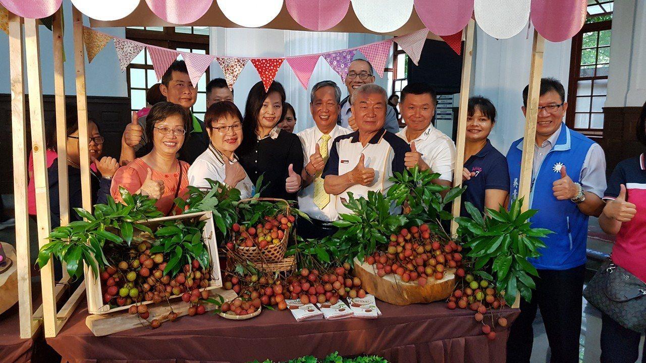 新竹市是全台最北的荔枝產地,產期也最晚,市府、市農會22日辦荔枝節活動,邀大家把...